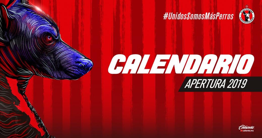 Liga Bbva Calendario 2019.El Club Tijuana Inaugurara El Calendario Apertura 2019 De La Liga